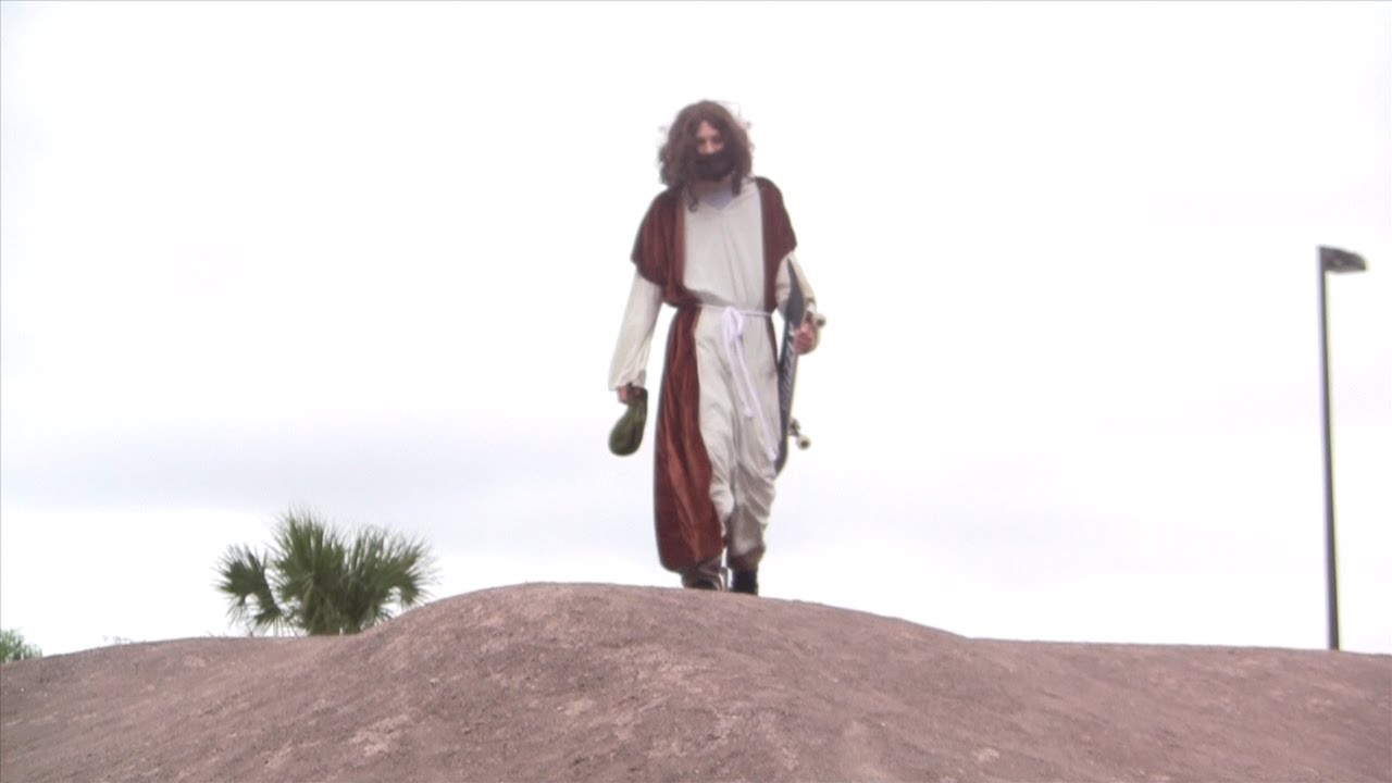 JESUS SKATEBOARDING (Easter 2014)