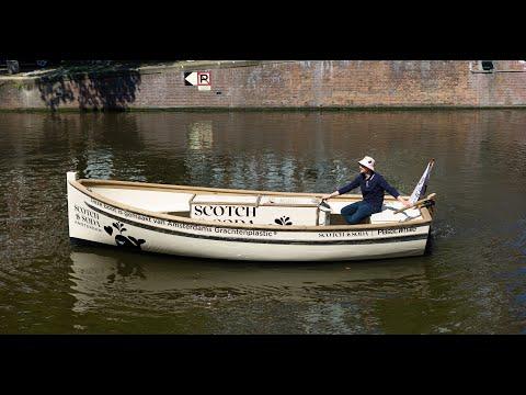 Scotch & Soda and Plastic Whale Launch Plastic Fishing Boat...