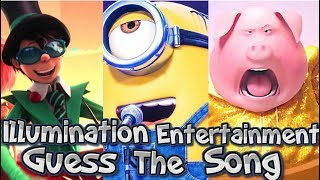 Guess The Illumination Entertainment Song - MINIONS!!! and More