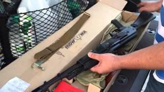 АК-74М СХП (хотя заказан и оплачен был АКМ). Распаковка.