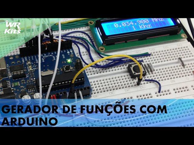 GERADOR DE FUNÇÕES 5MHz COM ARDUINO
