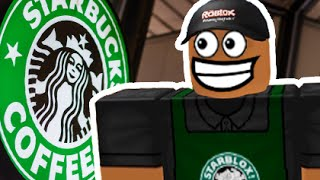 BUILDING MY OWN STARBUCKS! | Roblox