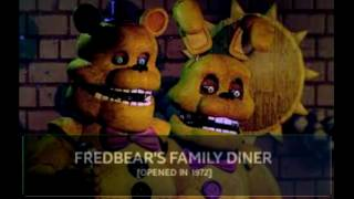 [AMS FNAF] All Five Nights At Freddy's Animatronics