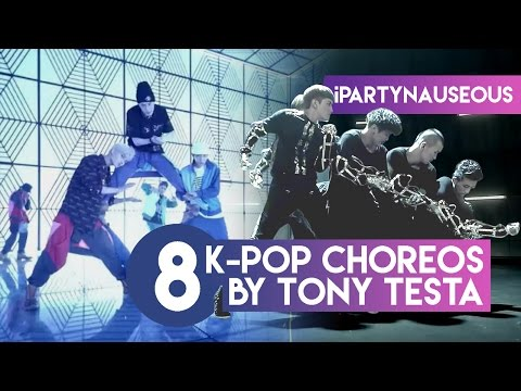 8 Iconic K-pop Choreos by Choreographer Tony Testa!