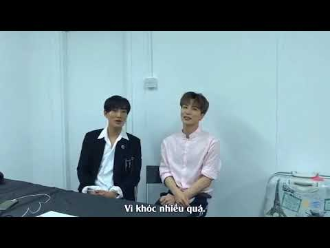 [Vietsub] 180406 - Kangta in Waiting Room @ SMTOWN Live Concert VI in Dubai