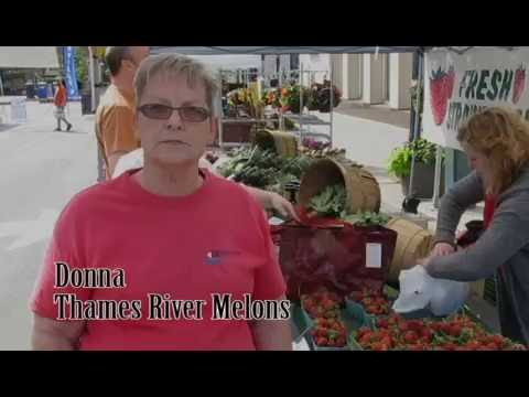 Oakville Farmers' Market - Thames River Melons