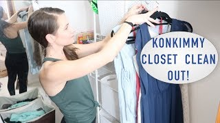 Extreme Closet Clean & Declutter! KonMari Style... Not really.  But That Was My Inspiration.