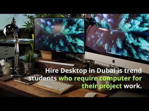 Computer Rental Dubai - Rent Virtual Desktop in Dubai