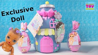 Baby Born Surprise Baby Bottle House Unboxing Exclusive Doll Toy Review | PSToyReviews