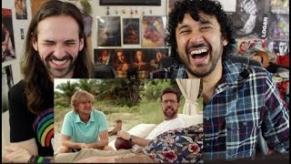 FATHER FIGURES - Official RED BAND TRAILER REACTION & REVIEW!!!