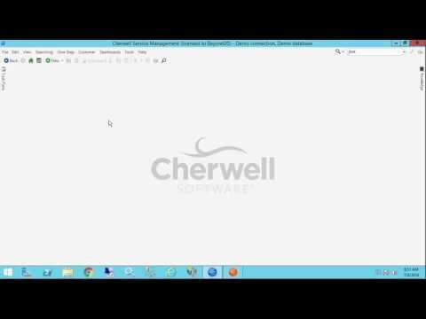 Understanding Search Results Widgets in Cherwell