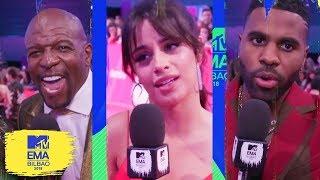 Little Mix, Camila Cabello & More Stan BTS & Ariana Grande   MTV EMAs 2018