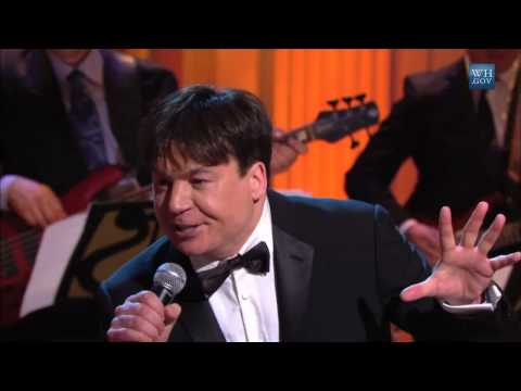 Mike Myers performs