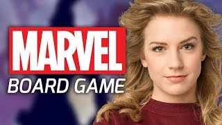 MARVEL SUPERHERO BOARD GAME