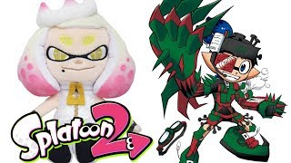 Splatoon 2 NEW Gear & Off The Hook Plush Toys Revealed!