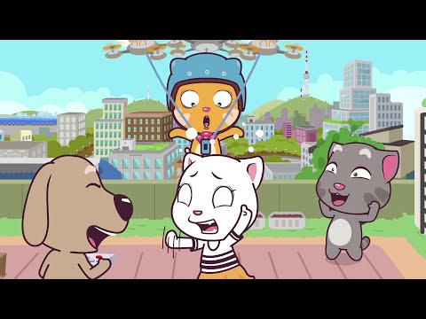 Talking Tom and Friends Minis - Episodes 21-24 Binge Compilation