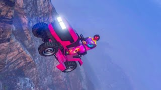 Driving Lawn Mowers Down Mt Marty In GTA 5