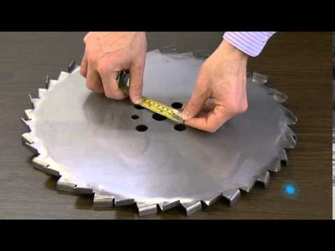 How to Measure and Specify Dispersion Blade Hole Patterns