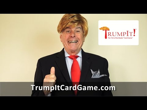 "TrumpIt! The ""Art of the Dealer"" Card Game Promotional Video"