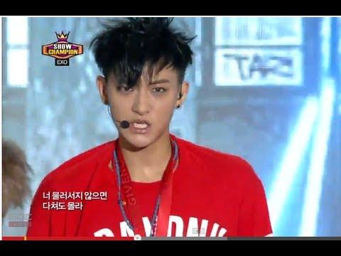 EXO - Growl, 엑소 - 으르렁, Show Champion 20130814