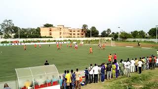 Le magnifique but pour l'ouverture de score des poulains du coach Déguénon. Trinité Singbo