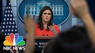 White House Press Briefing - November 30, 2017 | NBC News