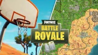 ALL FORTNITE *BASKETBALL PITCH LOCATIONS*