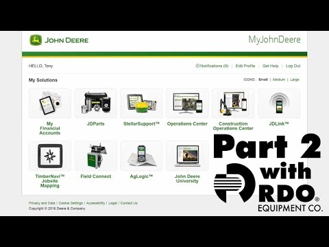 John Deere Operations Center Full Tutorial pt. 2 - Interactive Video by RDO Equipment Co.