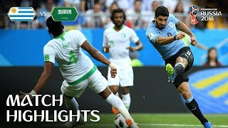 Uruguay v Saudi Arabia - 2018 FIFA World Cup Russia™ - Match 18