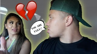 BEING MEAN To My Girlfriend To See How She Reacts! ** SHE WANTS TO BREAK UP!! **