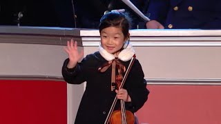 Amazing 5-Year-Old Violinist performs for President Obama