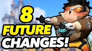 8 HUGE FUTURE CHANGES Coming To Overwatch!