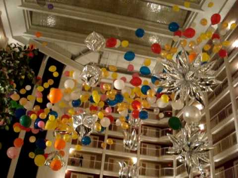 BOSS 2000 Balloon Drop at IBA Convention 2009