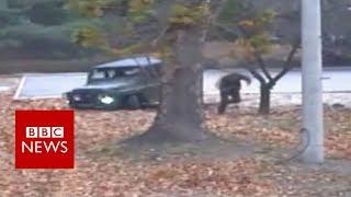 Daring escape: Video footage shows North Korean soldier cr..