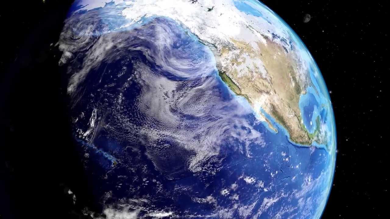 Erde Drehung