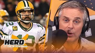 Rodgers doesn't feel loved by Packers, Colin defends Cowboys drafting CeeDee Lamb | NFL | THE HERD