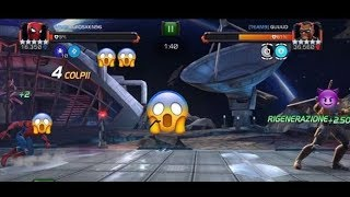 MCOC:SEASON 5 aw#2 ONE OF MY WORST WAR 😱 I DIED  ??! (MNG)vs(TEAM9) path6