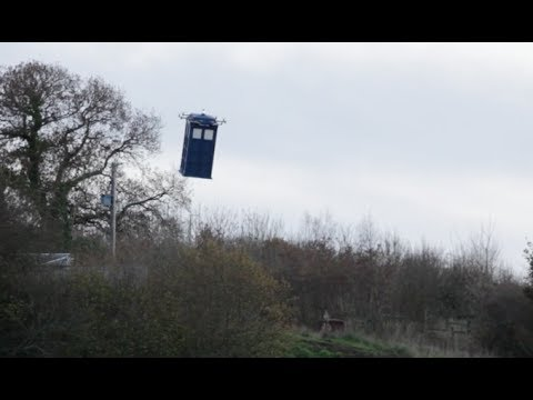 Making A Life-sized Flying Tardis