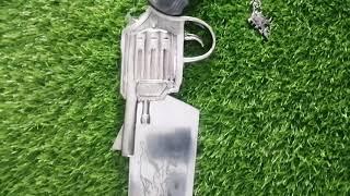 Functional Squall Gunblade Revolver Sword from Final Fantasy - SwordsKingdom