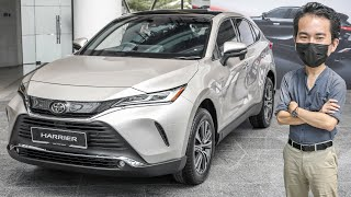2021 Toyota Harrier in Malaysia - no turbo but loaded with tech, RM250k