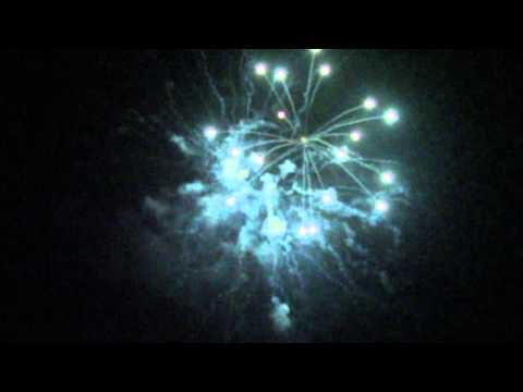 Gilroy High School 4th of July Firework Show 2013