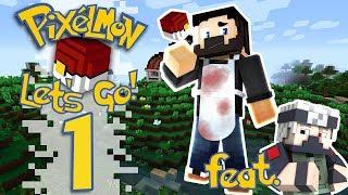 Pixelmon: Let's Go! - EP01 - Teaching The Basics (Minecraft Pokemon)