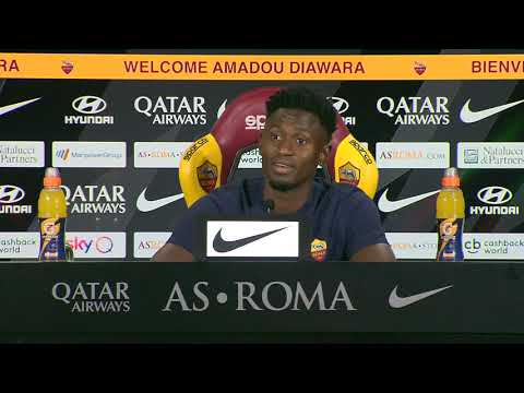 VIDEO - La conferenza stampa integrale di Diawara:
