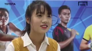 Trò chuyện với cầu thủ nữ, Trần Thị Duyên  - Phong Phú Hà Nam