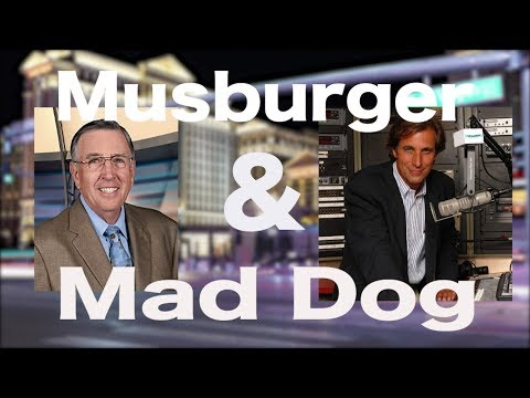 Chris Mad Dog Russo w/Brent Musburger-Vegas money,Keith Jackson,JoJo White,NFL championships picks