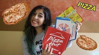 Domino's v/s Pizza Hut v/s Smokin' Joe's Pizza! | Taste Test Review //Equalist Aastha