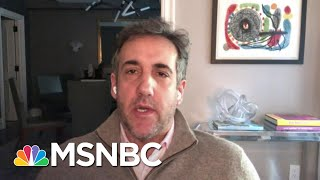 Michael Cohen: N.Y. PROSECUTORS WILL BE THE