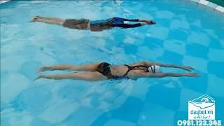 Học Bơi Căn Bản - Hướng Dẫn Chi Tiết Kỹ Thuật Nổi Thân Người Trong Nước Và Bật Nhảy