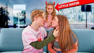 Introducing My GIRLFRIEND To My EVIL Little Sister  **gone wrong** 😈|Lev Cameron