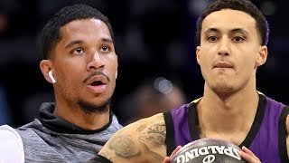Kyle Kuzma TROLLS His Old Teammates & Josh Hart FIRES BACK!